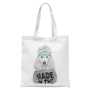 Balazs Solti Made In The 80's Tote Bag - White