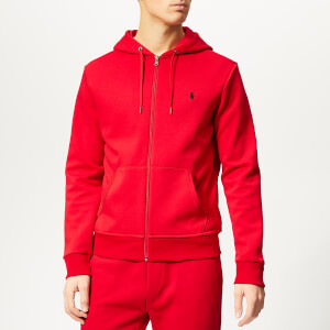 Polo Ralph Lauren Men's Double Knit Zip Hoody - Rl 2000 Red