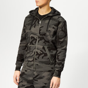 Polo Ralph Lauren Men's Cotton-Blend Zip Hoody - Charcoal Rl Camo