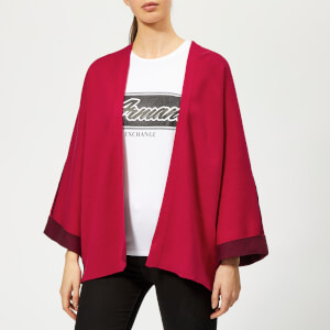 Armani Exchange Women's Logo Cardigan - Red