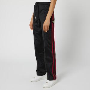 Armani Exchange Women's Stripe Side Tracksuit Bottoms - Black