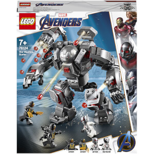 LEGO Marvel Avengers War Machine Buster Action Figure (76124)