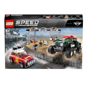 LEGO® Speed Champions: Mini Cooper S Rally 1967 et Mini John Cooper Works Buggy 2018 (75894)