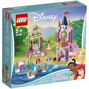 LEGO Disney Princess: Ariel, Aurora, and Tiana's Royal Celebra 41162
