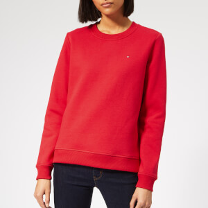 Tommy Hilfiger Women's Louisa Crew Neck Sweatshirt - Red