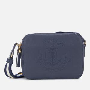 Lauren Ralph Lauren Women s Huntley Medium Cross Body Bag - Navy f7c84cc904a21