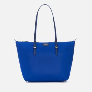 Lauren Ralph Lauren Women's Chadwick Medium Shopper Bag - Cosmic Blue