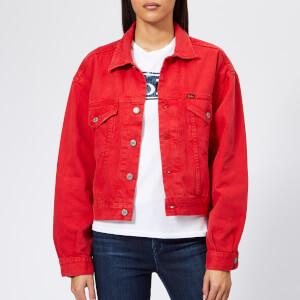 Polo Ralph Lauren Women's Rosa Wash Denim Jacket - Red