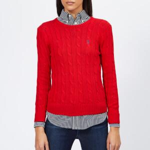 Polo Ralph Lauren Women's Julianna Jumper - Red