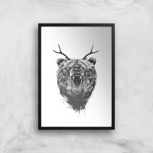 Balazs Solti Dear Bear Art Print