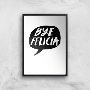 Rock On Ruby Bye Felicia Art Print