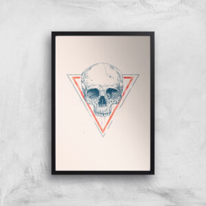 Balazs Solti Skull Art Print