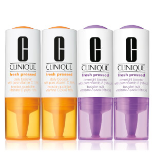 Clinique Fresh Pressed Vitamin A and Vitamin C Serum Set (Pack of 4)