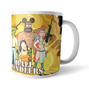 Taza Rick y Morty Ball Fondlers