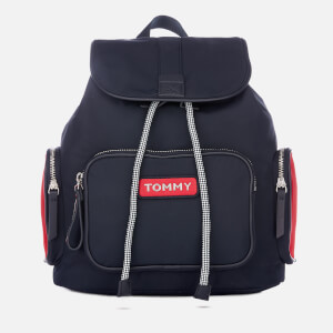 Tommy Hilfiger Women's Varsity Nylon Backpack - Corporate
