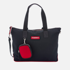 Tommy Hilfiger Women's Varsity Nylon Tote Bag - Corporate