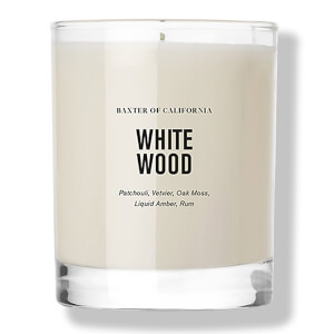 Baxter of California White Wood Candle -kynttilä