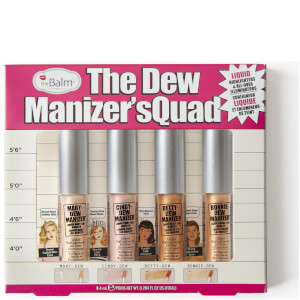 theBalm The Dew Manizers' Quad (Worth £25)