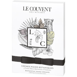 Le Couvent des Minimes Botanical Hand Creams (Worth £24.00)