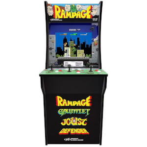 Sambro Arcade 1Up Midway: Rampage, Gauntlet, Joust, Defender At Home Arcade Machine