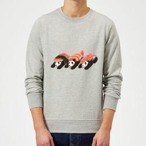 Tobias Fonseca Panda Sushi Sweatshirt - Grey