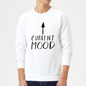 Rock On Ruby Current Mood Sweatshirt - White