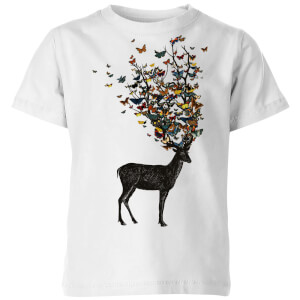 Tobias Fonseca Wild Nature Kids' T-Shirt - White