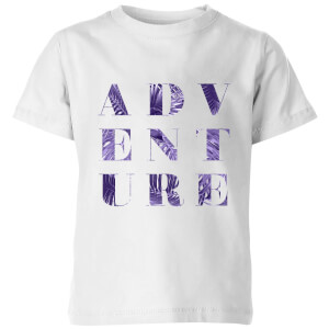 PlanetA444 ADVENTURE Kids' T-Shirt - White
