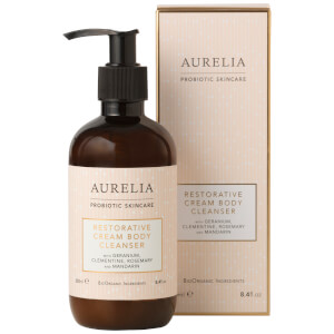 Aurelia Probiotc Skincare Restorative Cream Body Cleanser 250ml (Free Gift) (Worth £28)