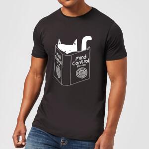 Tobias Fonseca Mind Control for Cats Men's T-Shirt - Black