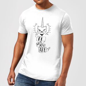 Rock On Ruby Be Who You Are Men's T-Shirt - White