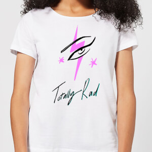 Totally Rad Women's T-Shirt - White