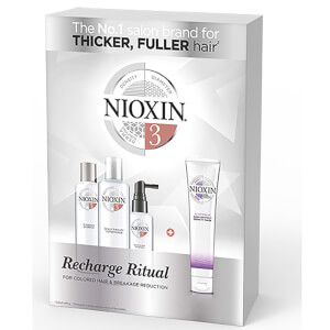 Nioxin Recharge Ritual Deep Protect Density Mask Set -hiustenhoitosetti