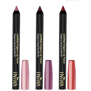 INIKA trio di matitoni rossetto certificati bio