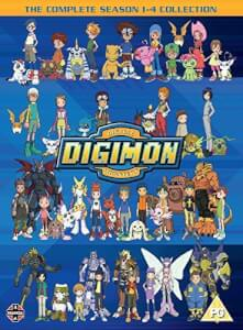 Digimon: Digital Monsters Season 1-4