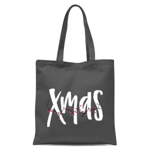 Xmas Tote Bag - Grey