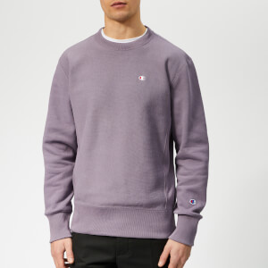 Champion Men's Crew Neck Sweatshirt - Purple