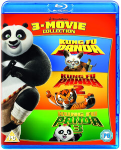 Kung Fu Panda 1-3 Box Set - 2018 Artwork Refresh