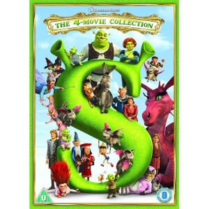 Shrek/ Shrek 2/ Shrek The Third/ Shrek Forever After - 2018 Artwork Refresh