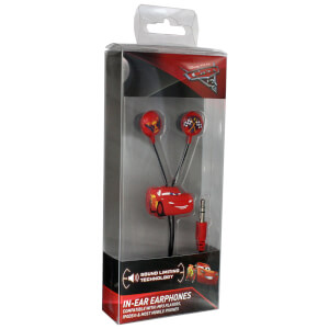 Disney Cars 3 Lightning McQueen Earphones