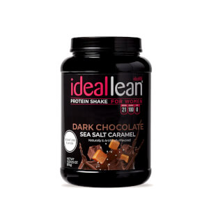 IdealLean Protein - Dark Chocolate Sea Salt Caramel - 30 Servings
