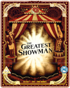 The Greatest Showman Zavvi UK Exclusive Limited Edition Steelbook