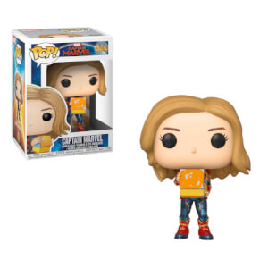 Marvel - Captain Marvel mit Lunchbox Pop! Vinyl Figur