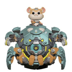 Figura Funko Pop! Wrecking (15 cm) LTF - Overwatch (LTF)