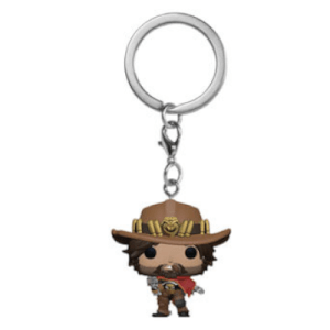 Llavero Funko Pop! McCree - Overwatch (LTF)