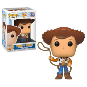 Figurine Pop! Woody Shérif - Toy Story 4