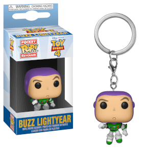 Toy Story 4 Buzz Lightyear Pop! Keychain
