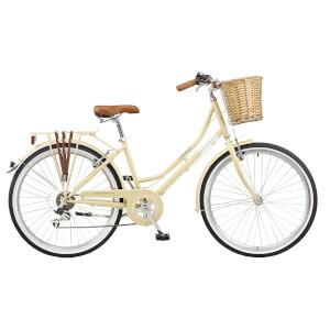 "Viking Belgravia Ladies Traditional Heritage 6sp Bike - Latte 26"" Wheel"