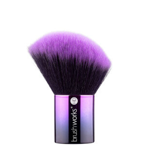 Brocha Kabuki para colorete HD de brushworks