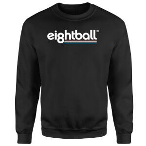 Ei8htball Lined Sweatshirt - Black